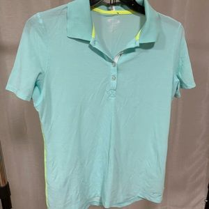 Minty blue color Oakley polo